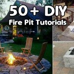 50+ DIY Fire Pit Tutorials