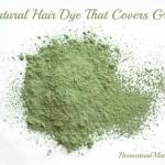 DIY Natural Hair Dye That Covers Gray