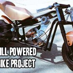 DIY Drill Powered Mini Bike Project