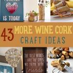 43 More Wine Cork Crafts Ideas