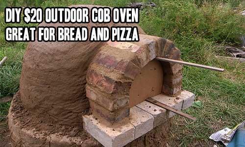 DIY $20 Outdoor Cob Oven