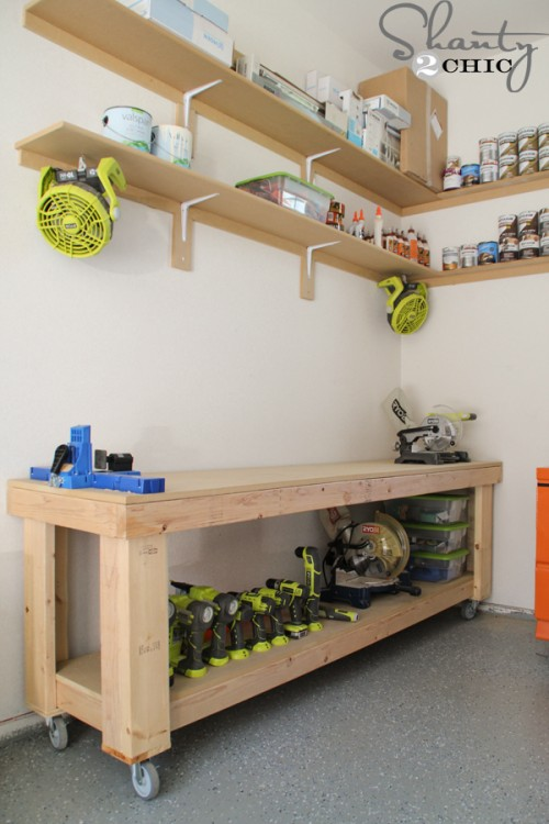 DIY Workbench – Free Plans