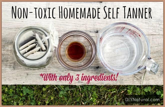 Homemade Self Tanner – A Natural DIY Sunless Tan