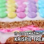 No baking required! 17 OTT amazing Rice Krispie Treats