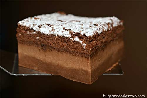 Chocolate Magic Custard Cake Recipe