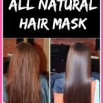 Homemade All Natural Hair Mask