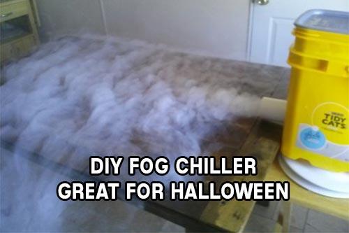 DIY Fog Chiller Great for Halloween