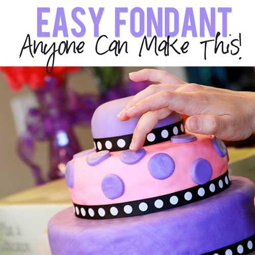 Easy Fondant Recipe Anyone Can Make