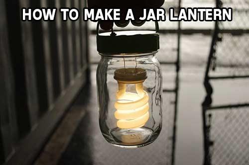 How To Make A Jar Lantern