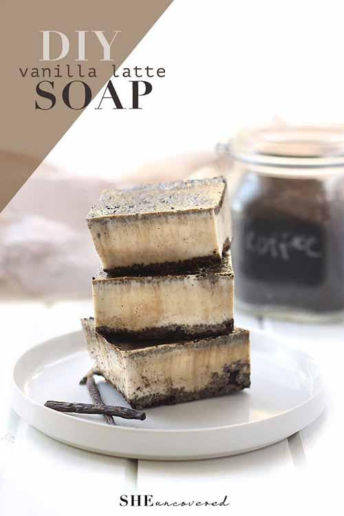 DIY VANILLA LATTE SOAP