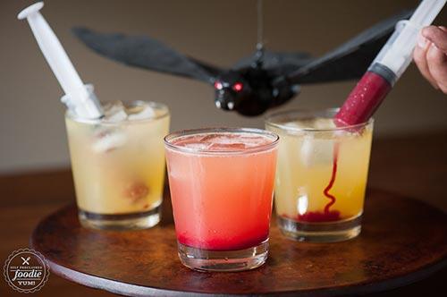Halloween Vampire Cocktail Drink Recipe