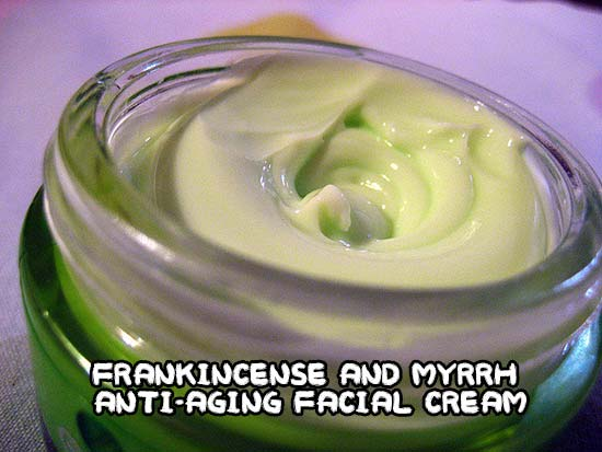 Frankincense and Myrrh Anti-Aging Facial Cream