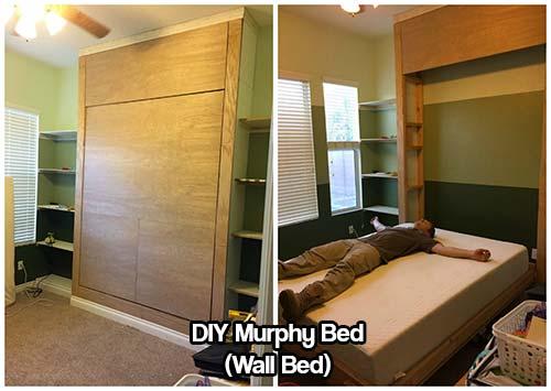 DIY Murphy Bed (Wall Bed)