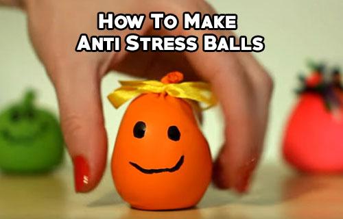 How To Make Anti Stress Balls