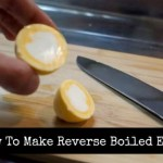 How To Make Reverse Boiled Eggs