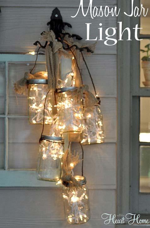 How To Make An Awesome Mason Jar Fairy Light