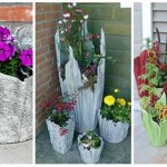 How to Make a Cement Towel Planter
