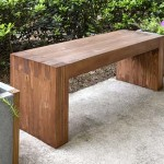 How To Make A Modern Bench For 35 Bucks