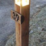 DIY Garden 'Bollard' Driveway Light