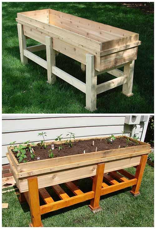 How To Build A Waist High Planter Box