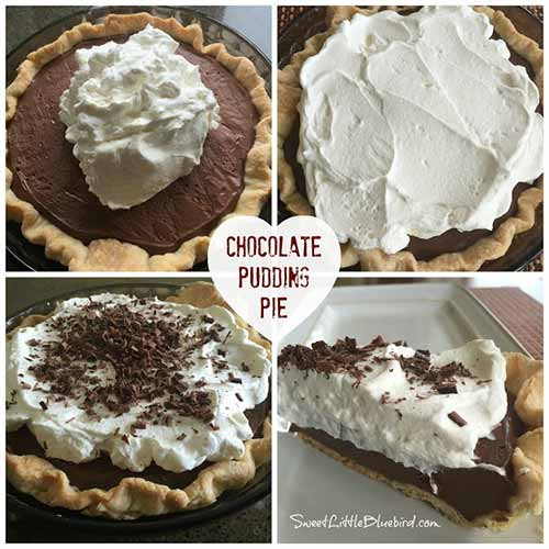 The Best Homemade Chocolate Pudding Pie Recipe Ever