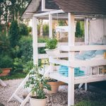 GARDEN PLAY HOUSE FOR A GIRL