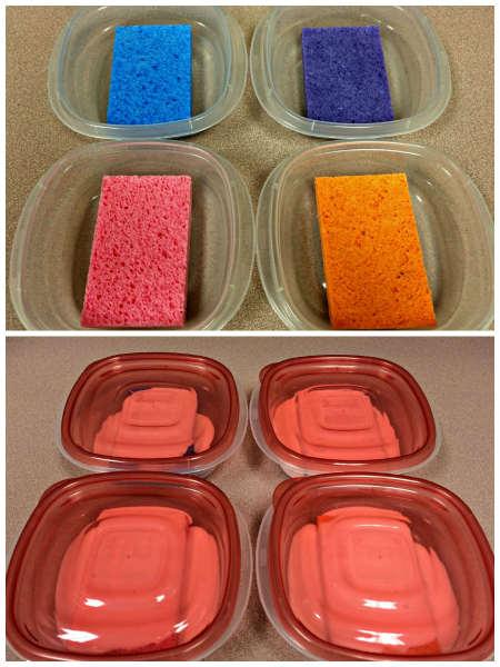 Glue Sponges
