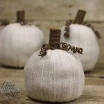 How To Make Easy No Sew Pumpkins