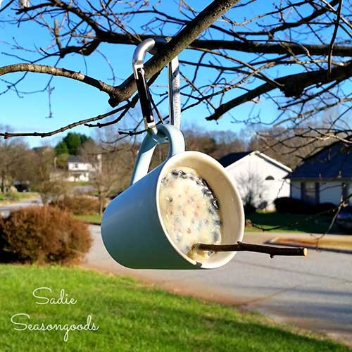 How To Make A Thrifty Suet Bird Feeder