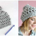 30 Minute Easy Chunky Crochet Beanie