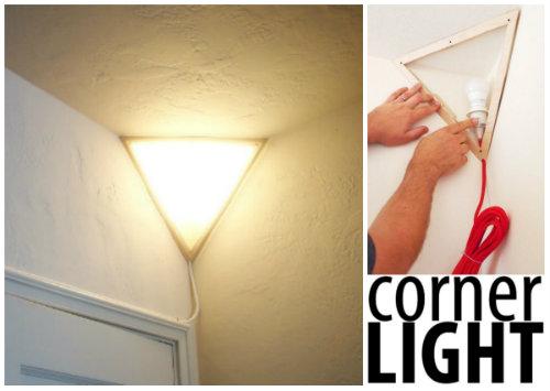 How To Build A Corner Light