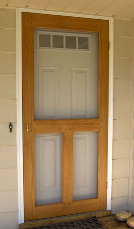 How To Make Your Own Screen Door Iseeidoimake