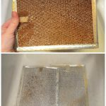 How To Clean A Stove Top Hood / Microwave Filter