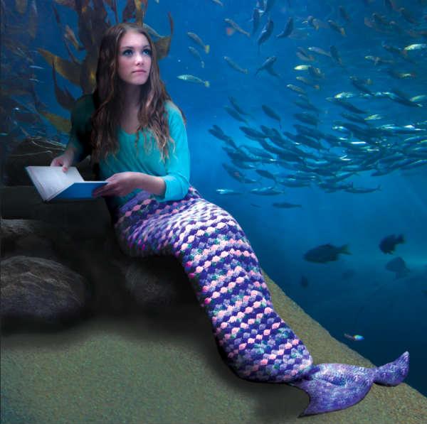 Mermaid Tail Blanket Free Crochet Patterns