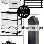 5 Closet Organization Tips