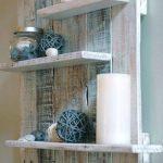 How To Make A Wood Pallet Wall Shelf