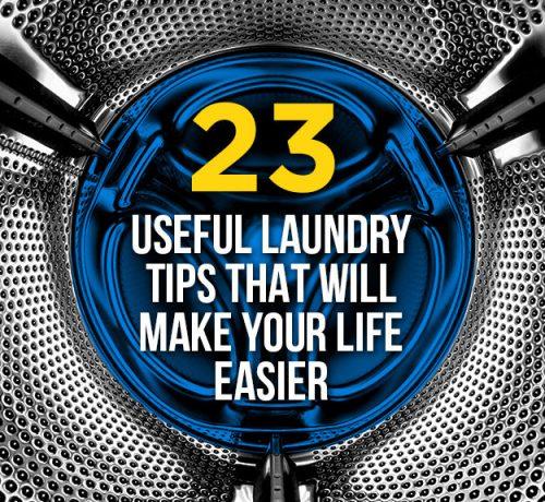23 Surprising Laundry Tips 187 Iseeidoimake