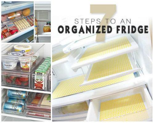 7 Steps to an Organized Fridge