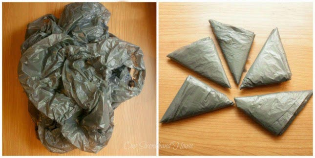 How To Fold Plastic Bags The Right Way