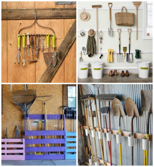 12 Garden Tool Racks You Can Easily Make