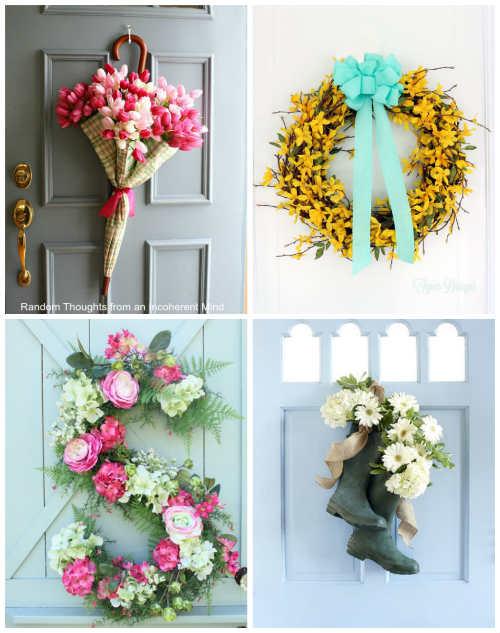 18 DIY Wreaths to Dress Up Your Door This Spring