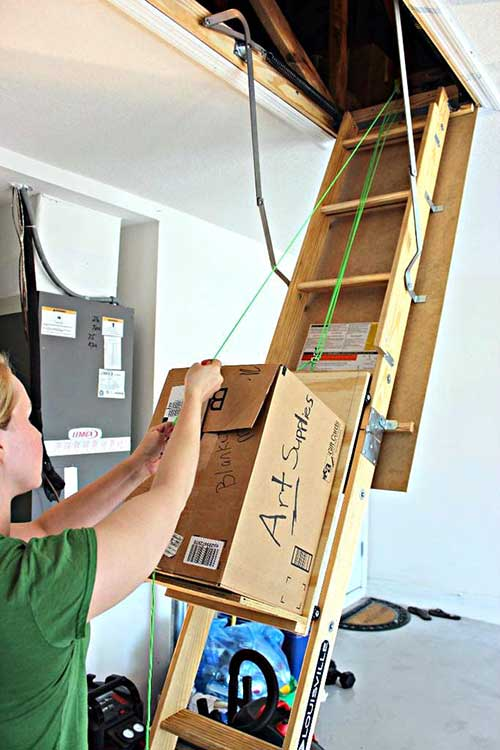 How To Make An Attic Storage Assistance
