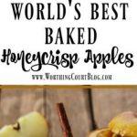 The World's Best Baked Honeycrisp Apples Recipe