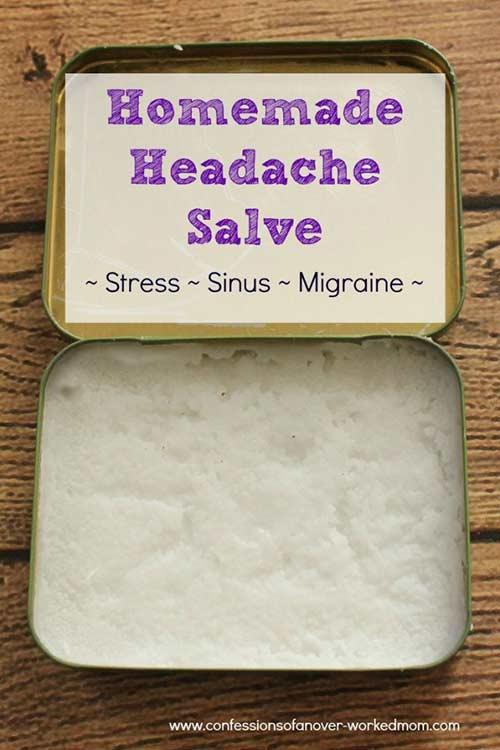 Homemade Headache Salve Recipe