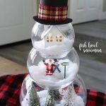 How To Make AFish Bowl Snowman