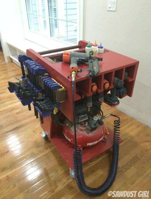How To Make A Portable Tool Cart