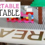 Portable DIY Lego Table