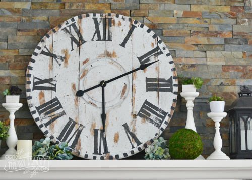 DIY Reclaimed Wood Clock