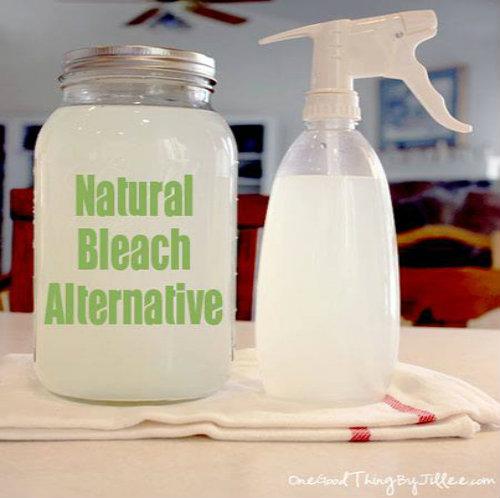 DIY All-Natural Bleach Alternative