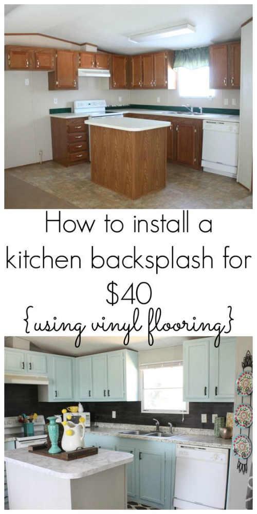 DIY Backsplash